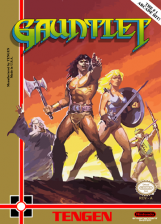 Gauntlet Nintendo NES cover artwork