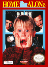 Home Alone Nintendo NES cover artwork