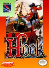 Hook Nintendo NES cover artwork