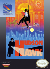 Hudson Hawk Nintendo NES cover artwork