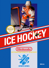 Ice Hockey Nintendo NES cover artwork