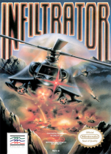 Infiltrator Nintendo NES cover artwork