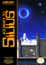 Journey to Silius Nintendo NES cover artwork