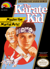 Karate Kid, The Nintendo NES cover artwork