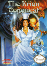 Krion Conquest, The Nintendo NES cover artwork