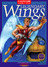 Legendary Wings Nintendo NES cover artwork