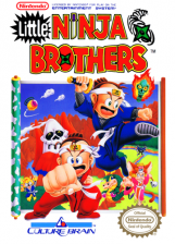 Little Ninja Brothers Nintendo NES cover artwork