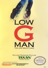 Low G Man - The Low Gravity Man Nintendo NES cover artwork
