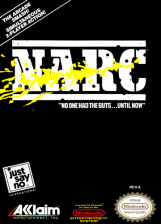 NARC Nintendo NES cover artwork