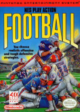 NES Play Action Football Nintendo NES cover artwork