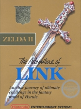 Zelda II - The Adventure of Link Nintendo NES cover artwork