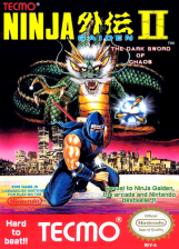 Ninja Gaiden II - The Dark Sword of Chaos Nintendo NES cover artwork