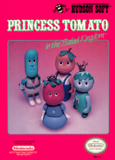 Princess Tomato in Salad Kingdom Nintendo NES cover artwork