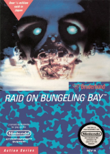 Raid on Bungeling Bay Nintendo NES cover artwork