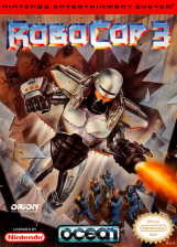 RoboCop 3 Nintendo NES cover artwork