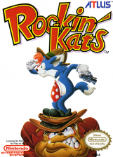 Rockin' Kats Nintendo NES cover artwork
