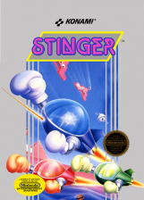 Stinger Nintendo NES cover artwork