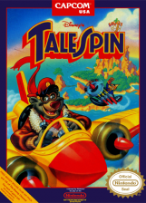 TaleSpin Nintendo NES cover artwork