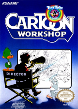 Tiny Toon Adventures Cartoon Workshop Nintendo NES cover artwork