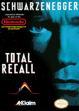 Total Recall Nintendo NES cover artwork