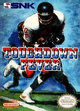 Touch Down Fever Nintendo NES cover artwork