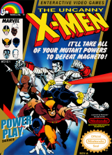 Uncanny X-Men, The Nintendo NES cover artwork
