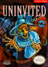 Uninvited Nintendo NES cover artwork