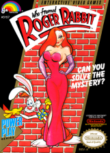 Who Framed Roger Rabbit Nintendo NES cover artwork