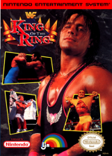 WWF King of the Ring Nintendo NES cover artwork