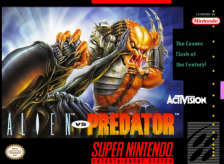 Alien vs. Predator Nintendo Super NES cover artwork