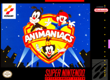 Animaniacs Nintendo Super NES cover artwork