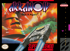 Arkanoid - Doh It Again Nintendo Super NES cover artwork