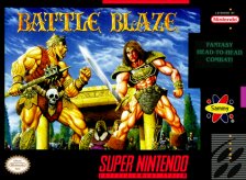 Battle Blaze Nintendo Super NES cover artwork