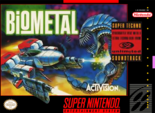 Bio Metal Nintendo Super NES cover artwork