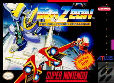 BlaZeon - The Bio-Cyborg Challenge Nintendo Super NES cover artwork