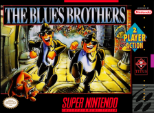 Blues Brothers, The Nintendo Super NES cover artwork