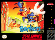 Bonkers Nintendo Super NES cover artwork