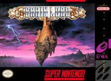 Brain Lord Nintendo Super NES cover artwork