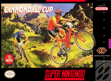 Cannondale Cup Nintendo Super NES cover artwork
