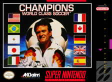 Champions - World Class Soccer Nintendo Super NES cover artwork