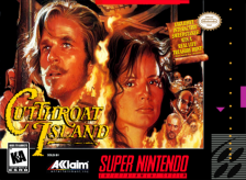 Cutthroat Island Nintendo Super NES cover artwork