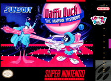 Daffy Duck - The Marvin Missions Nintendo Super NES cover artwork