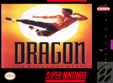 Dragon - The Bruce Lee Story Nintendo Super NES cover artwork
