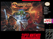 Dungeon Master Nintendo Super NES cover artwork