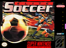 Elite Soccer Nintendo Super NES cover artwork
