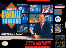ESPN Baseball Tonight Nintendo Super NES cover artwork