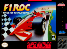 F1 ROC - Race of Champions Nintendo Super NES cover artwork