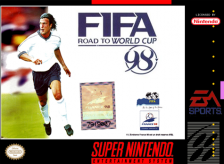 FIFA '98 - Road to World Cup Nintendo Super NES cover artwork