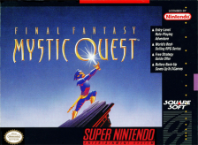 Final Fantasy - Mystic Quest Nintendo Super NES cover artwork
