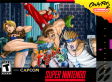 Final Fight 3 Nintendo Super NES cover artwork